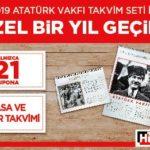 Hürriyet – Atatürk Vakfı Takvim Seti