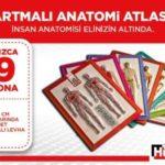 Hürriyet – Kabartma Anatomi Atlası Seti