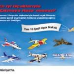 Hürriyet – 10 Çeşit Uçak Maketi Seti