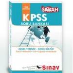 Sabah – KPSS Soru Bankası – Sınav Yayınları
