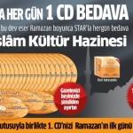 Star Gazetesi Ramazana Özel Her Gün 1 CD